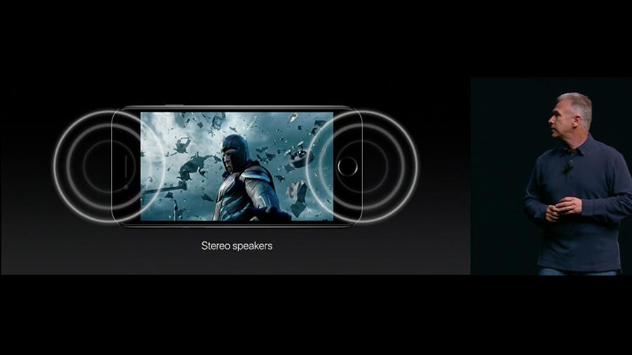 Stereo speakers - iPhone7