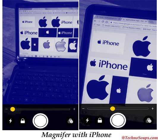 iOS 10 Magnifer