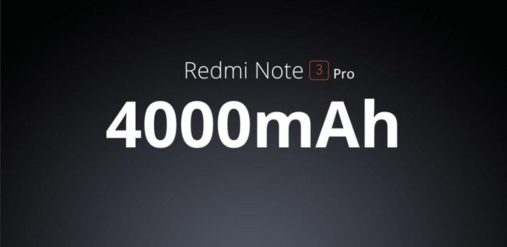 massive 4000 mAh battery