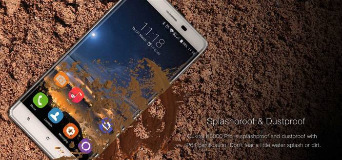 Splashproof & Dustproof Phone