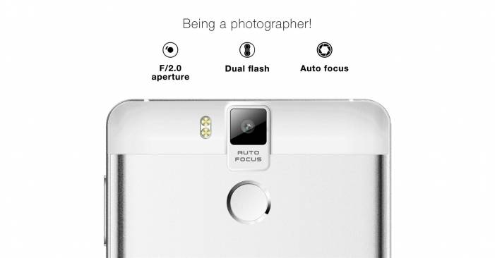 16MP Back and 8 MP Front Camera