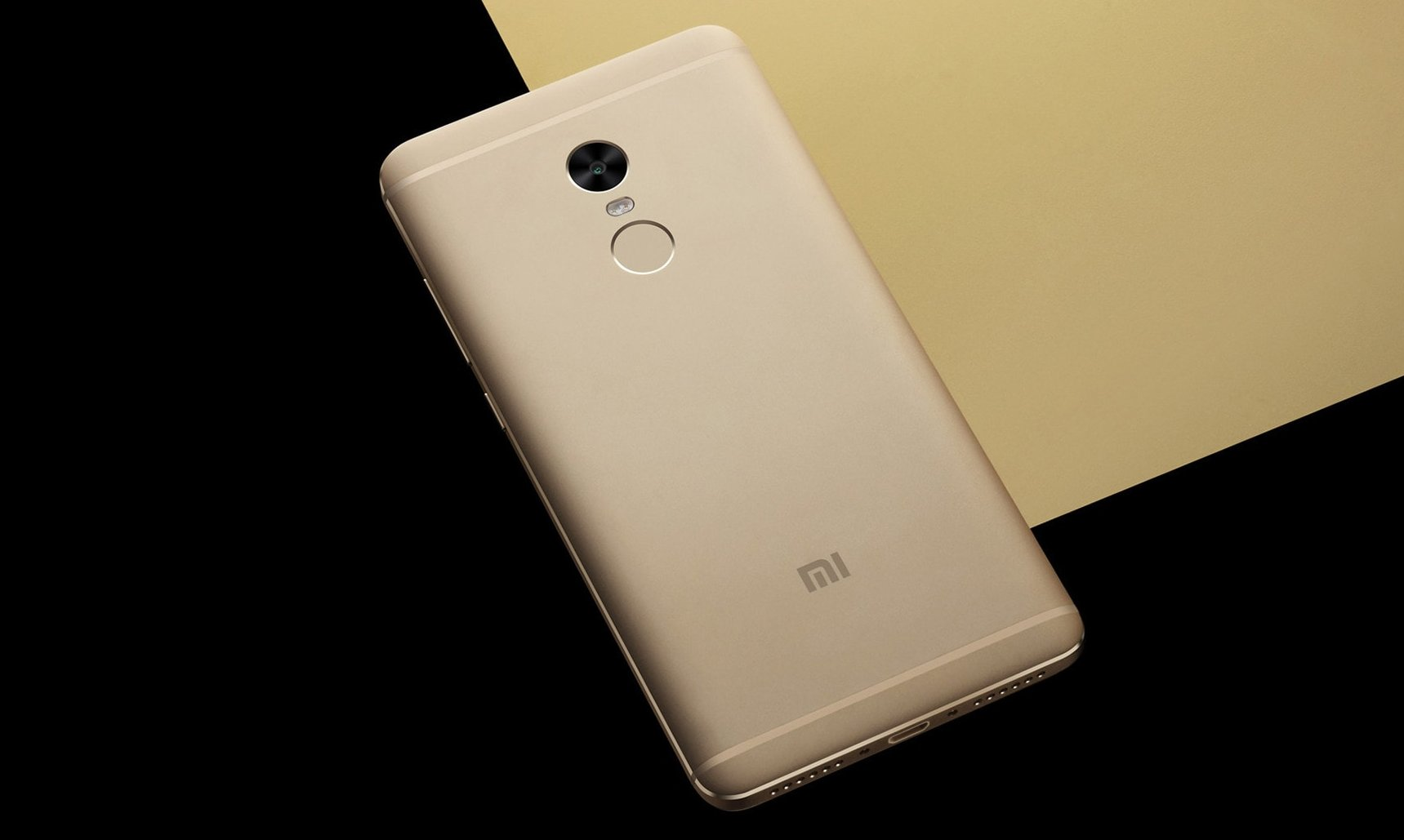 Design of Xiaomi Redmi Note 4