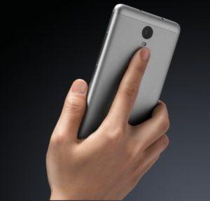 Fingerprint sensor of XIAOMI Redmi note 3