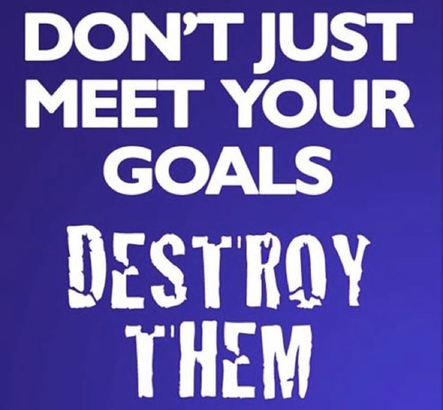 Goal quotes for facebook