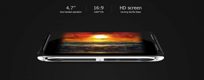 "4.7"" inch HD Screen in HT20"