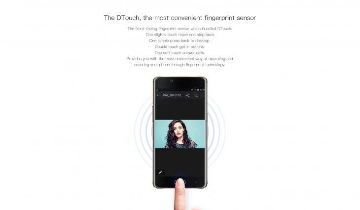 DTouch Fingerprint Sensor
