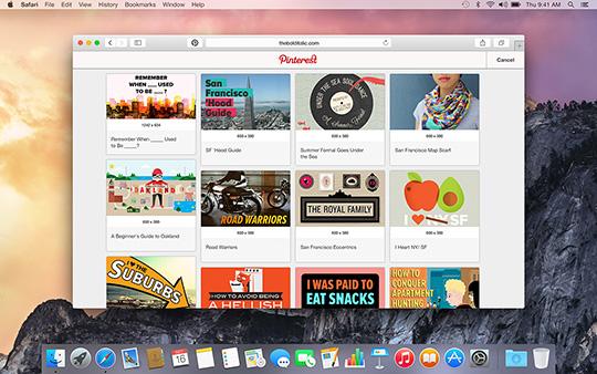 Pinterest-Safari-Extension