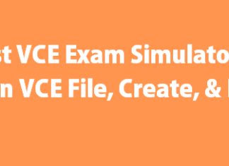 Best VCE exam Simulator