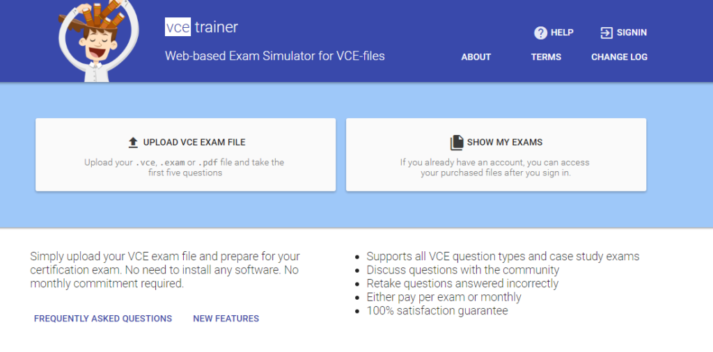 VCE viewer