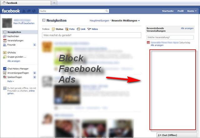 Facebook Cleaner safari extension