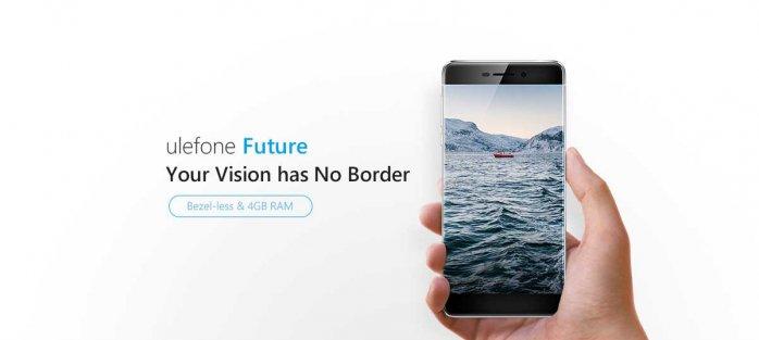 Ulephone Future bazel-less phone