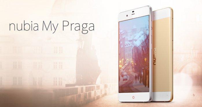 Nubia Prague Elite Bazel-less phone