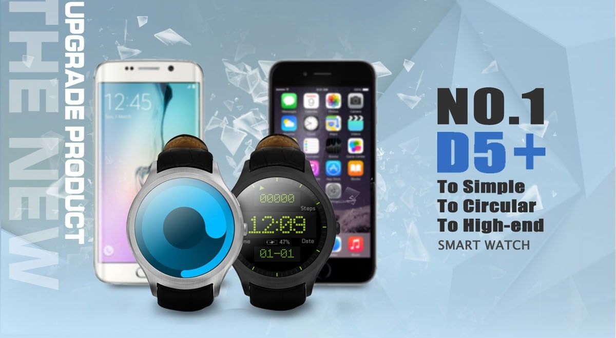 No.1 D5+ Smartwatch Review