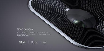 Crystal clear 13 MP Rear camera