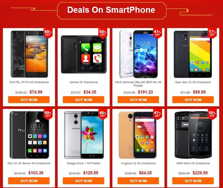 Deals On SmartPhone