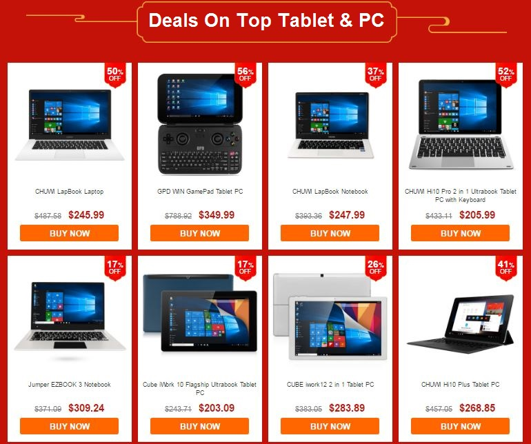 Deals On Top Tablet & PC