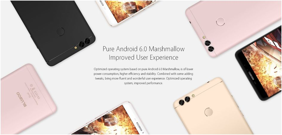 Bluboo Dual Android marshmallow 6.0