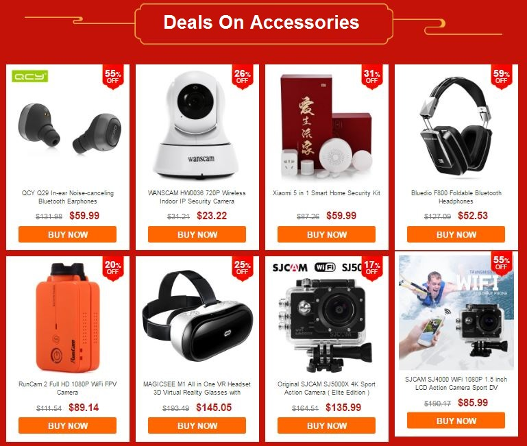 deals on smartphone accessories
