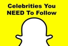 Celebrities follow