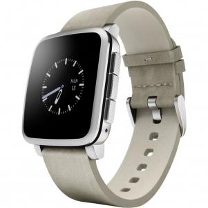 waterproof smartwatch Pebble Time Steel