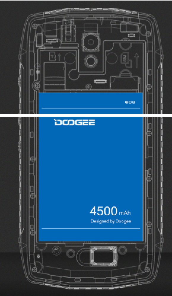 Battery 4500 mAh