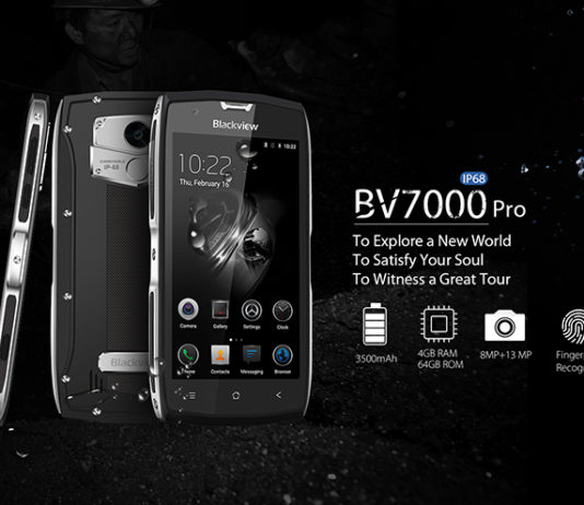 Blackview BV7000 4G Smartphone