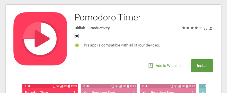 Download Pomodoro APP for Android