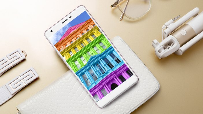 DISPLAY of Uhans S3 Smartphone