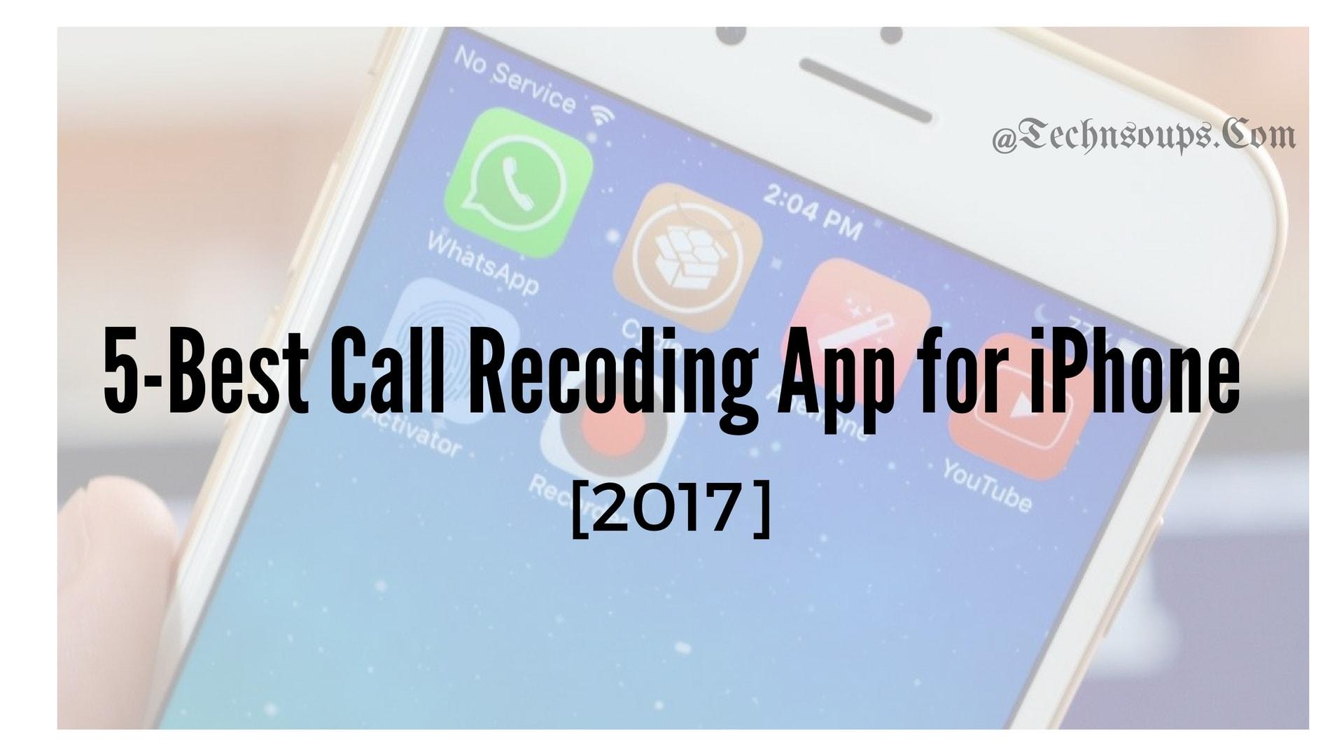best call recorder iphone app
