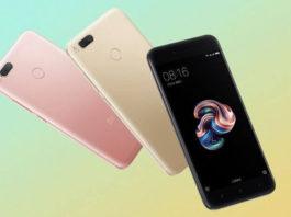 xiaomi mi5x smartphone
