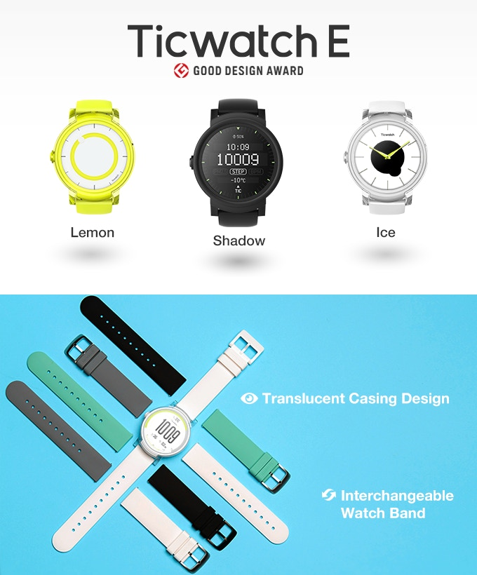 Ticwatch S & E: This Time With Android Wear 2.0 & Truly ...