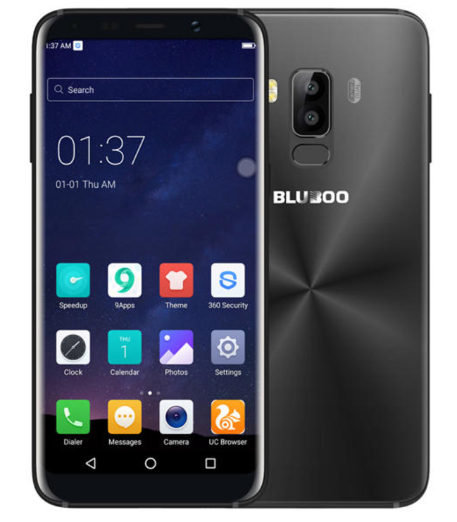 Glorious Design of Bluboo S8