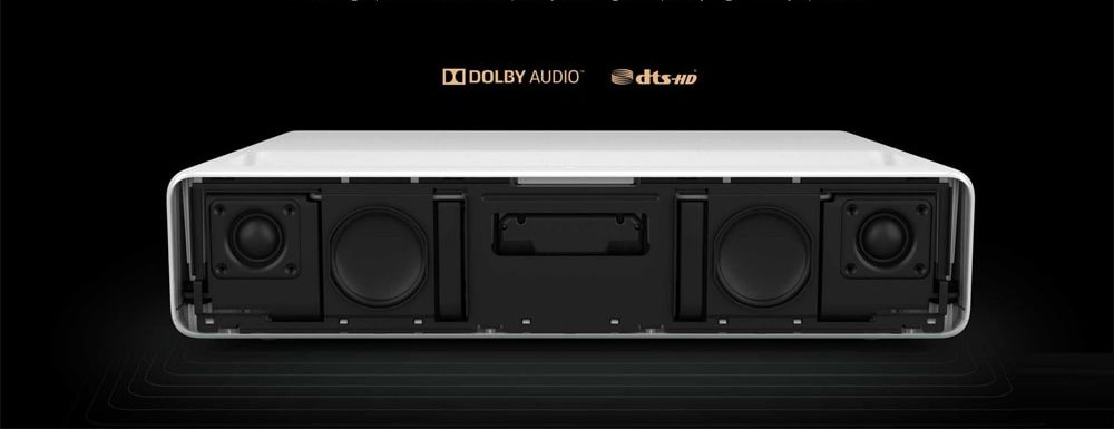 Dolby 30 W dual speakers