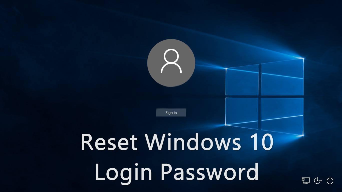 Windows  Home Admin User Reset Password