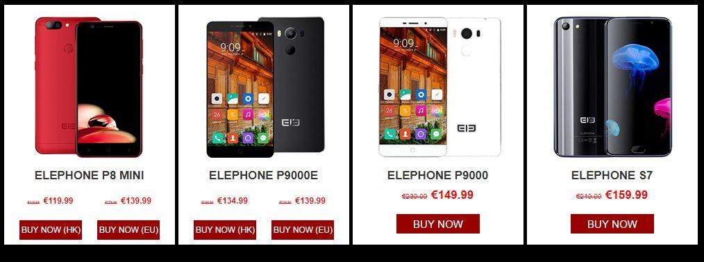 Elephone Sale
