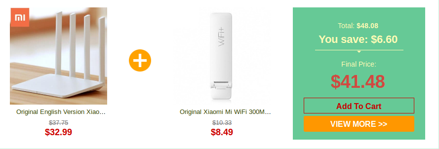Xiaomi Product deal