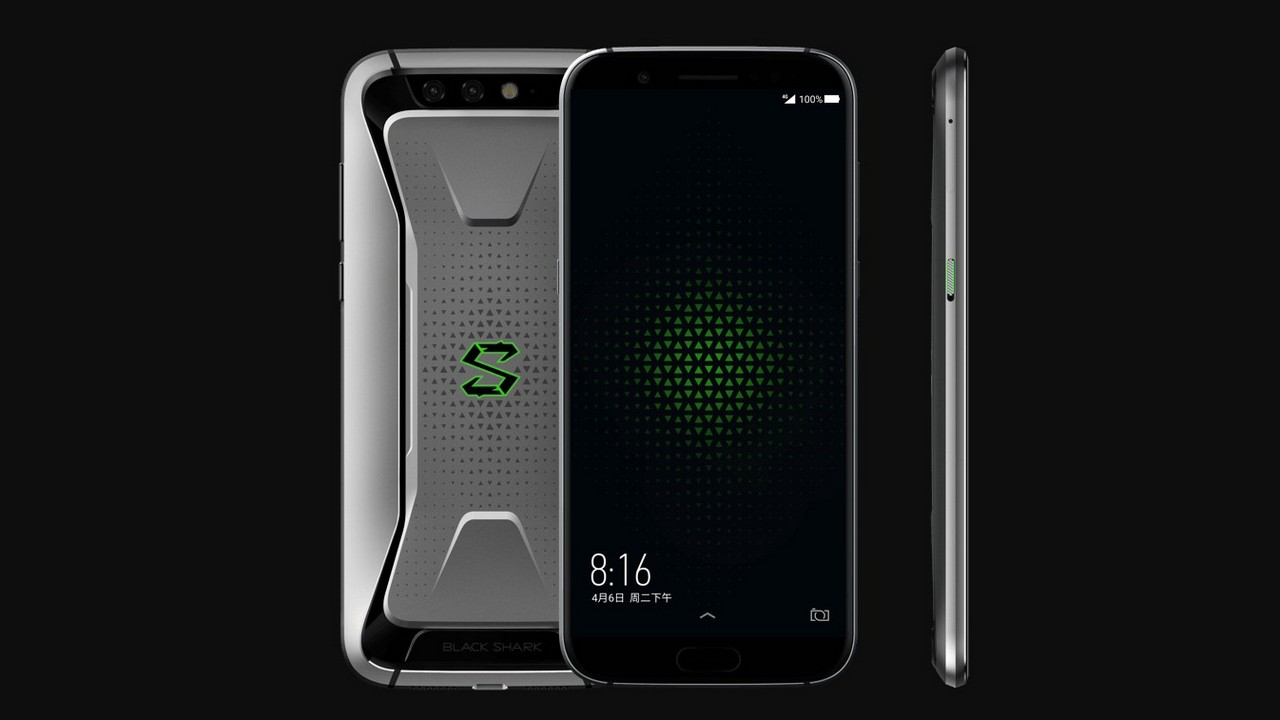 Xiaomi Black Shark Design