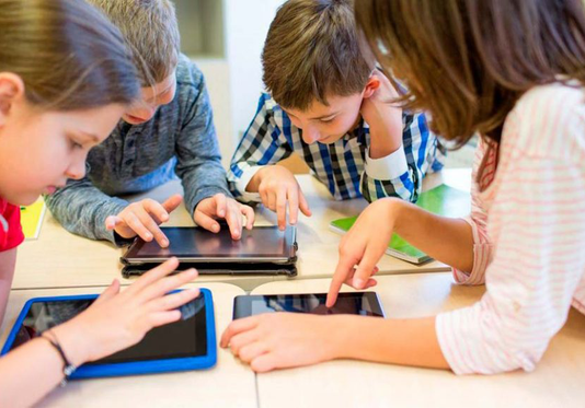 kids on cyber world