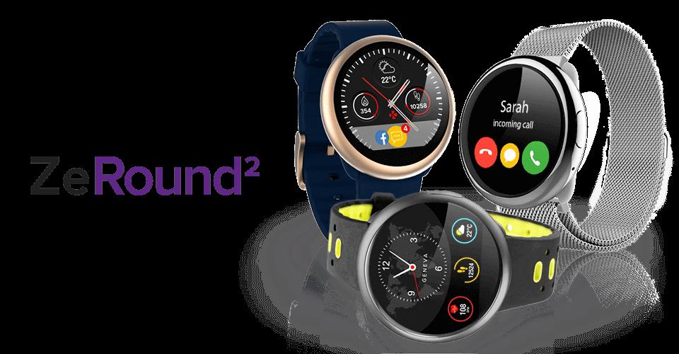 MyKronoz ZeRound2 Smartwatch