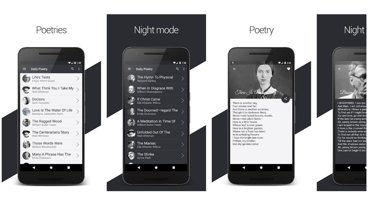 Daily English Poems | Poets & Poetries