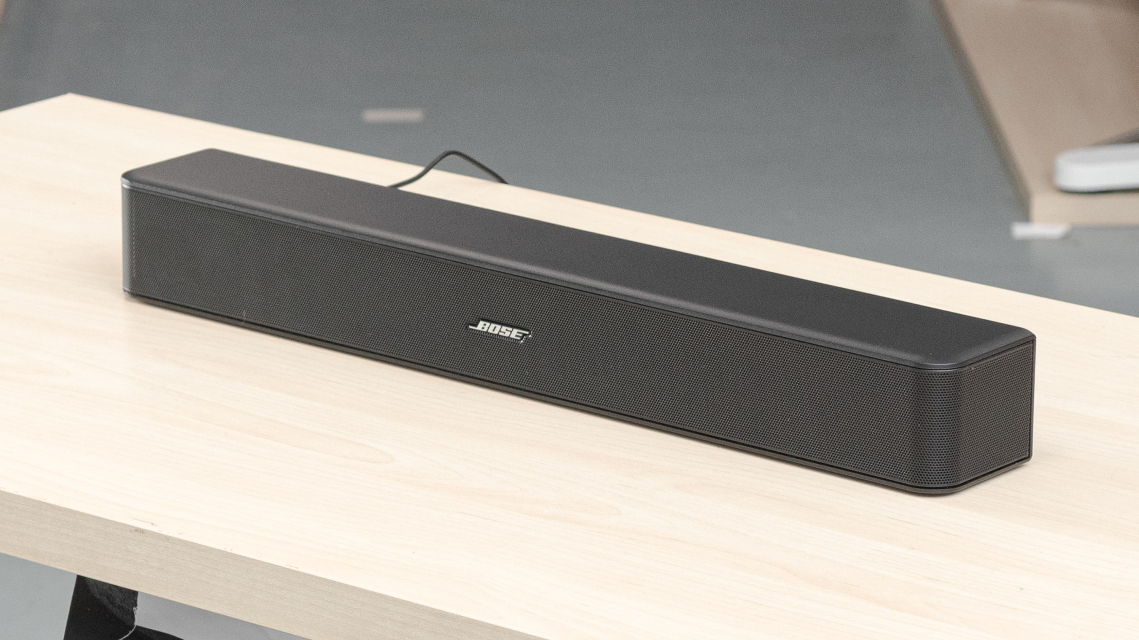 Bose Solo 5 TV Soundbar for dialogue