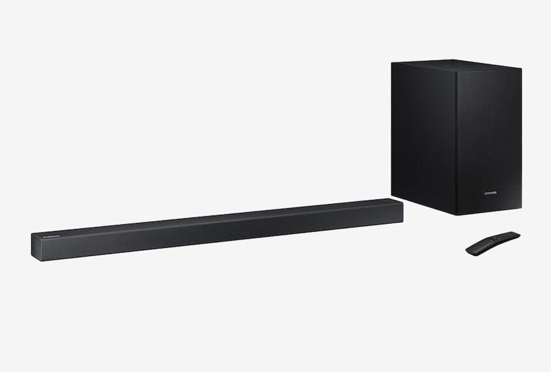 Samsung 2.1 Soundbar HW-R450 for dialogue