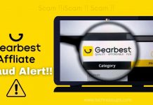 Gearbest Affiliate Fraud