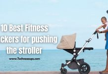 Fitness Tracker for Pushing Stroller